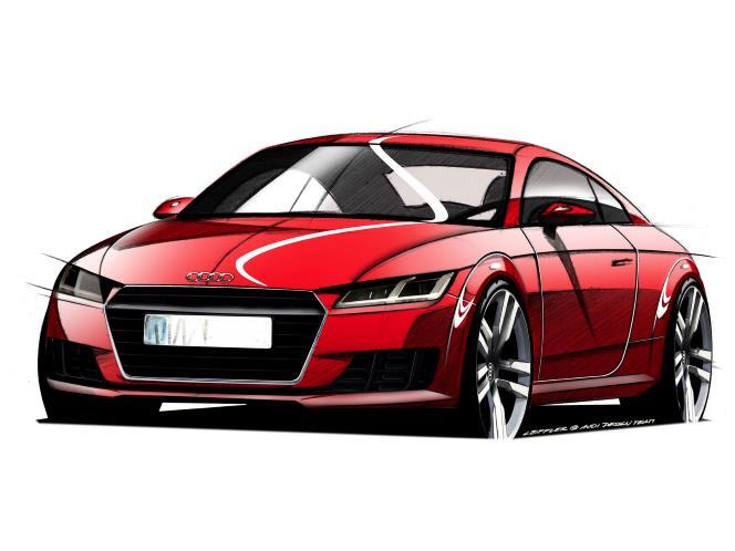 Sketsa Perdana Audi TT 2014